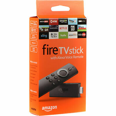 BRAND NEW Amazon Fire TV Stick (2nd Gen) with Alexa Voice