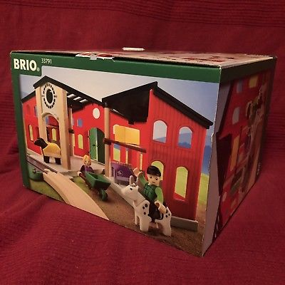 BRIO , Brand New, Brio Countryside Horse Stable,
