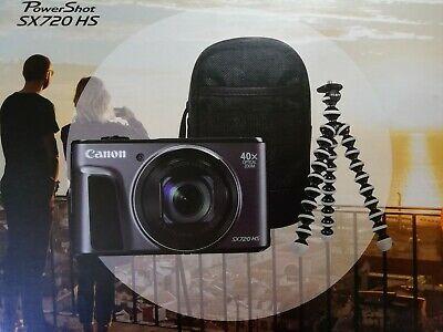 CANON PowerShot SX720 HS Superzoom Compact Camera & Travel