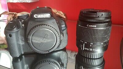 Canon EOS 600D DSLR Camera with EF-S  mm LENS