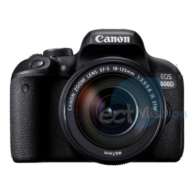 Canon EOS 800D w/ EF-S mm f/ IS STM Lens NEW
