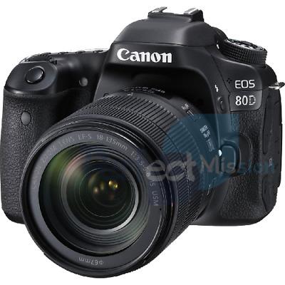 Canon EOS 80D w/ mm IS USM lens Jap NEW