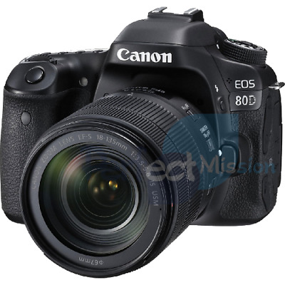 Canon EOS 80D w/ mm IS USM lens Multi NEW