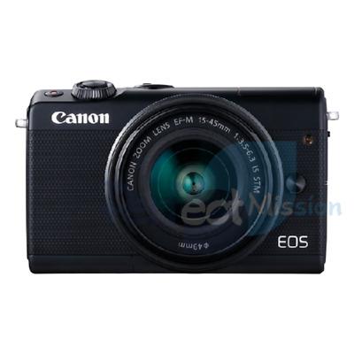 Canon EOS M100 KIT w/ EF-M mm STM lens Black NEW