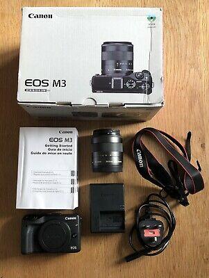 Canon EOS MMP Digital Camera - Black With mm EF-M