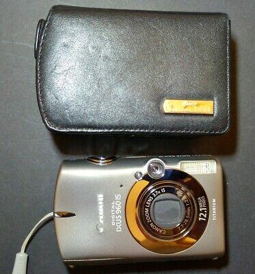Canon IXUS 960 IS PowerShot Digital camera 12.1MP big CCD