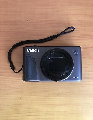 Canon PowerShot SX730 HS 20.3 MP Digital Camera - Black