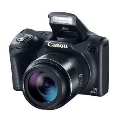 Canon Powershot Sx420 Is 20 Megapixel Bridge Camera Black