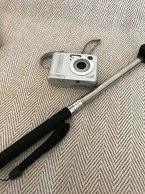 Casio QV-R MP Digital Camera - Silver - Monopod