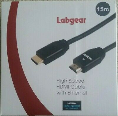 Labgear High Speed HDMI Cable With Ethernet 15m