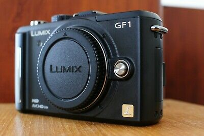 Low Shutter Count 307 - Panasonic GF1 Digital Camera - Black