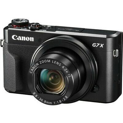 NEW Canon Powershot G7 X Mark II - 2 Year Warranty