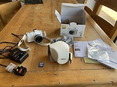 Nikon 1 VMP Digital Camera - White (Kit w/ VR mm