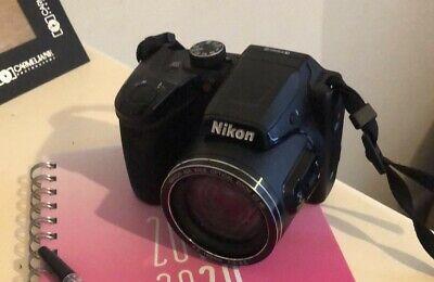 Nikon Coolpix B500 (VNA951E1) Compact Digital Camera - Black