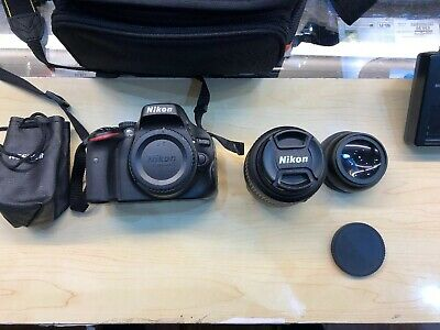Nikon D DMP Digital SLR Camera - Black (Kit with VR
