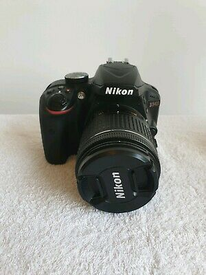 Nikon D DSLR Camera with AF-P DX  VR Lens - Black