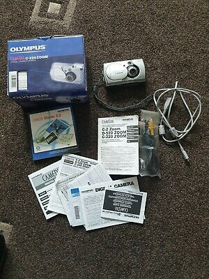 Olympus CAMEDIA C-MP Digital Camera - Silver