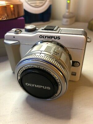 Olympus PEN E-PLMP Digital Camera - White (Body only)