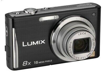 Panasonic LUMIX DMC-LZ2 5.0MP Digital Camera - Black