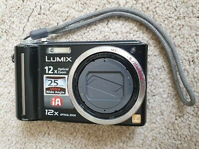 Panasonic LUMIX DMC-TZ6EG-K 10.1MP Digital Camera - Black