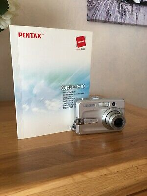 Pentax Optio EMP Digital Camera - Silver