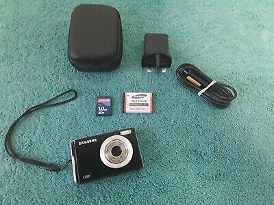 Samsung L Series LMP Digital Camera - Black