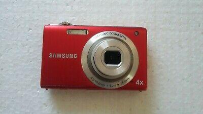 Samsung ST Series STMP Digital Camera - Red