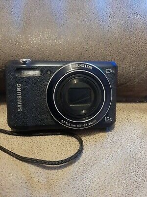 Samsung WB Series WB35F 16.2MP Digital Camera - Black