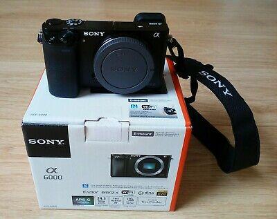 Sony Alpha AMP Digital Camera - Black (Body Only)