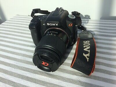 Sony Alpha AMP Digital SLR Camera - Black With