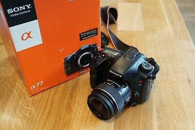 Sony Alpha SLT-A77V 24.3MP Digital SLR Camera. Plus  &