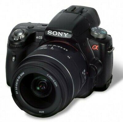 Sony Alpha SLT-AMP Digital SLR Camera - Black (Kit w/