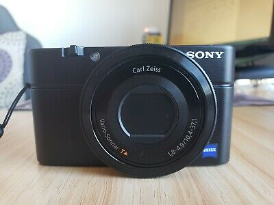 Sony Cyber-shot DSC-RX MP Digital Camera - Black