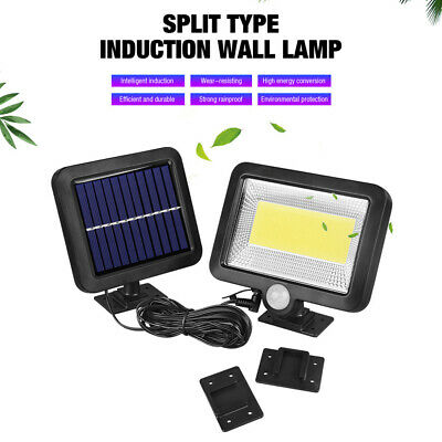 100 LED Outdoor Solar Power Motion Sensor Garden Floodlight