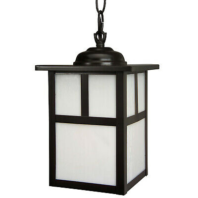 """Craftmade Z Mission 1 Light Outdoor Pendant - 6"""" Wide -"""
