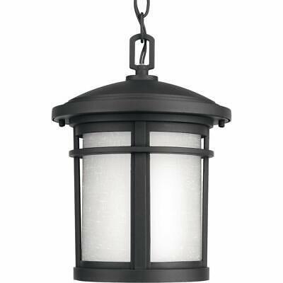 """Progress Lighting P-LED Wish 9"""" Wide LED Pendant - Black"""