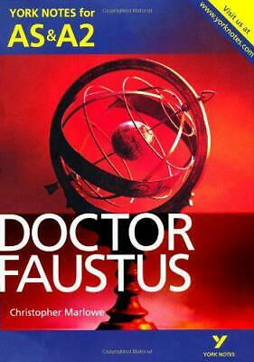 Doctor Faustus (York Notes for AS & A2) by, NEW Book, FREE &