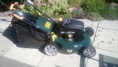 "Tesco 18"" Self Propelled Petrol Lawn Mower"
