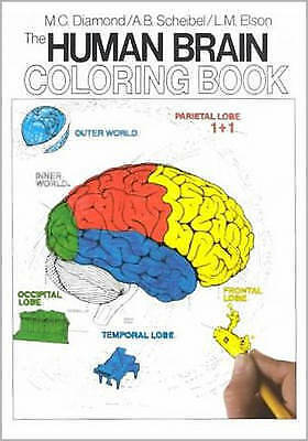 The Human Brain Coloring Book by Marian C. Diamond, Arnold
