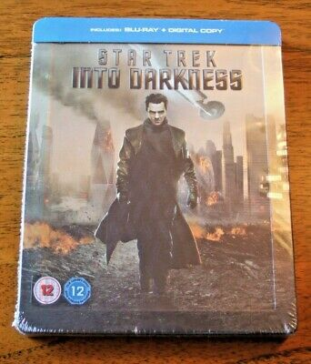 Star Trek Into Darkness Blu Ray Digital Copy Steelbook.