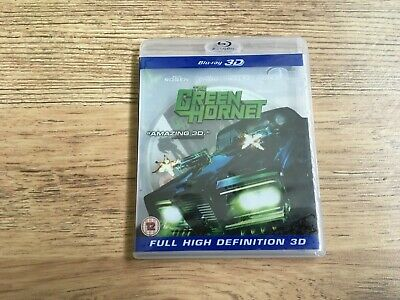 THE GREEN HORNET...3D BLU RAY