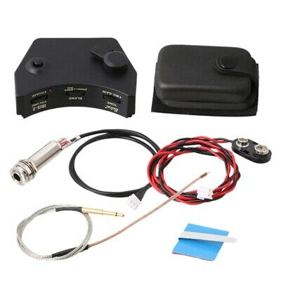 Belcat IRIS-2 Sound Hole Control Preamp Guitar Pickup Piezo