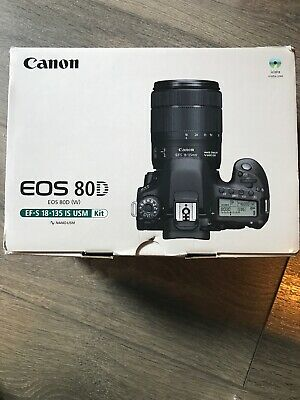 CANON EOS 80D DSLR Camera + EF-S  mm f/ IS USM
