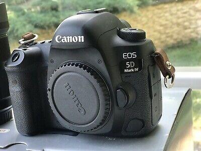 Canon EOS 5D Mark IV 30.4MP Digital SLR Camera + 3