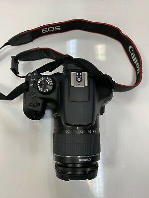 Canon EOS D 18.0MP Digital SLR Camera - Black (Kit w/