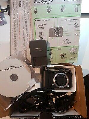 Canon PowerShot GMP Digital Camera - Black complete in