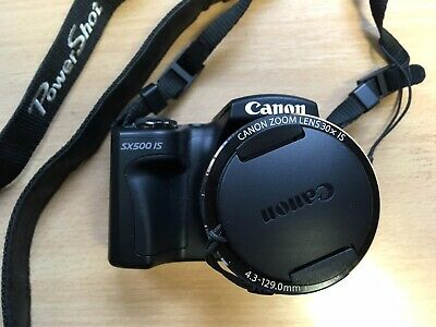 Canon PowerShot SX500 IS Digital Camera 30x Optical Zoom