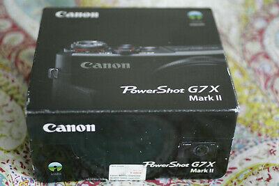 Canon Powershot G7 X Mark II Digital Camera Camera - Black