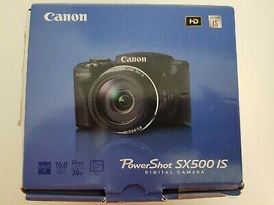 Canon powershot sx500 is digital camera