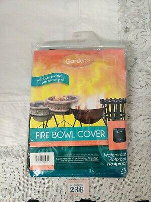 Gardeco Cover-Fb50 Fire Bowl/Fire Pit Cover Upto 50Cm Dia. &